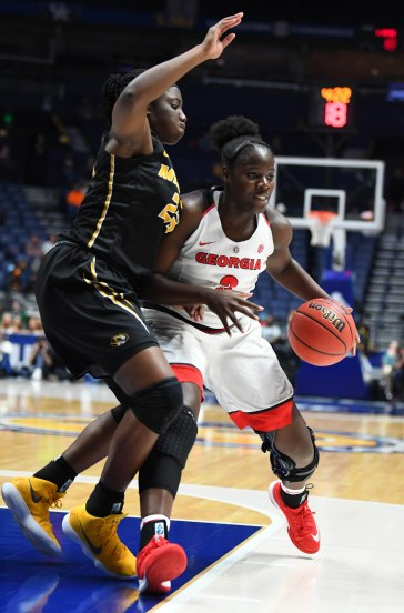 NCAA Womens Basketball: SEC Conference Tournament-Missouri vs Georgia